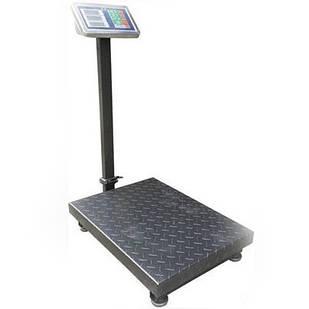 Ваги торгові електронні Domotec зі стійкою до 1000 кг підлогові
