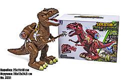 Интерактивный Динозавр 3351 (дышит паром, световые и звуковые эффекты)