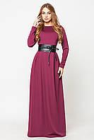 Платье женское Настя марсала