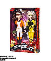 Набор кукол Леди Баг LT742  (2 куклы в наборе: Рина Руж и Квин Би (Алья и Хлоя)