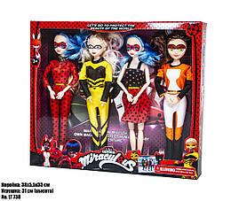 Набор кукол Леди Баг LT738C (4 куклы: Леди Баг, Маринетт, Антибаг, Рина Руж)