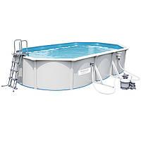 Сборный бассейн Bestway Hydrium 610х360х120 с песочным фильтром