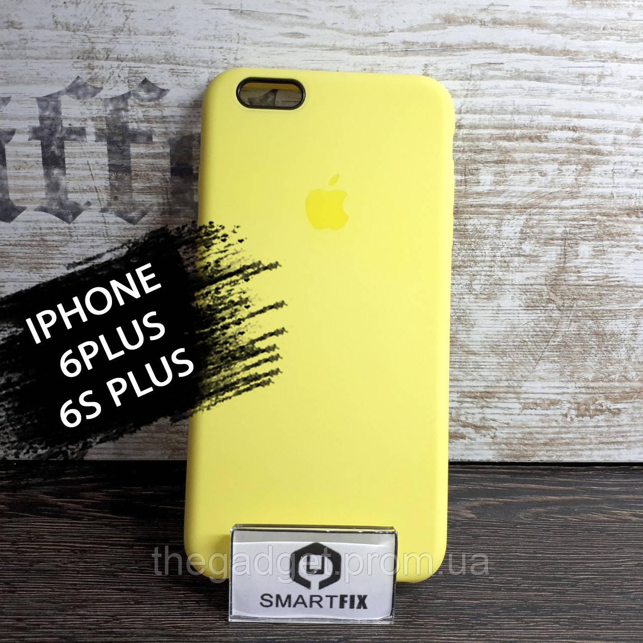 Силиконовый чехол для iPhone 6 Plus / 6S Plus Soft Лимонный