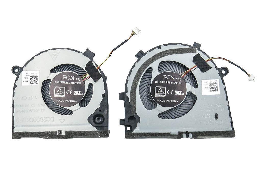 Вентилятор для ноутбука Dell G3 G3-3579, G5 5587 пара 5V 0.4A 4-pin FCN