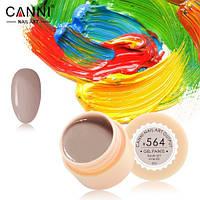 Гель-краска Canni №564 (серо-кремовая) 5 мл