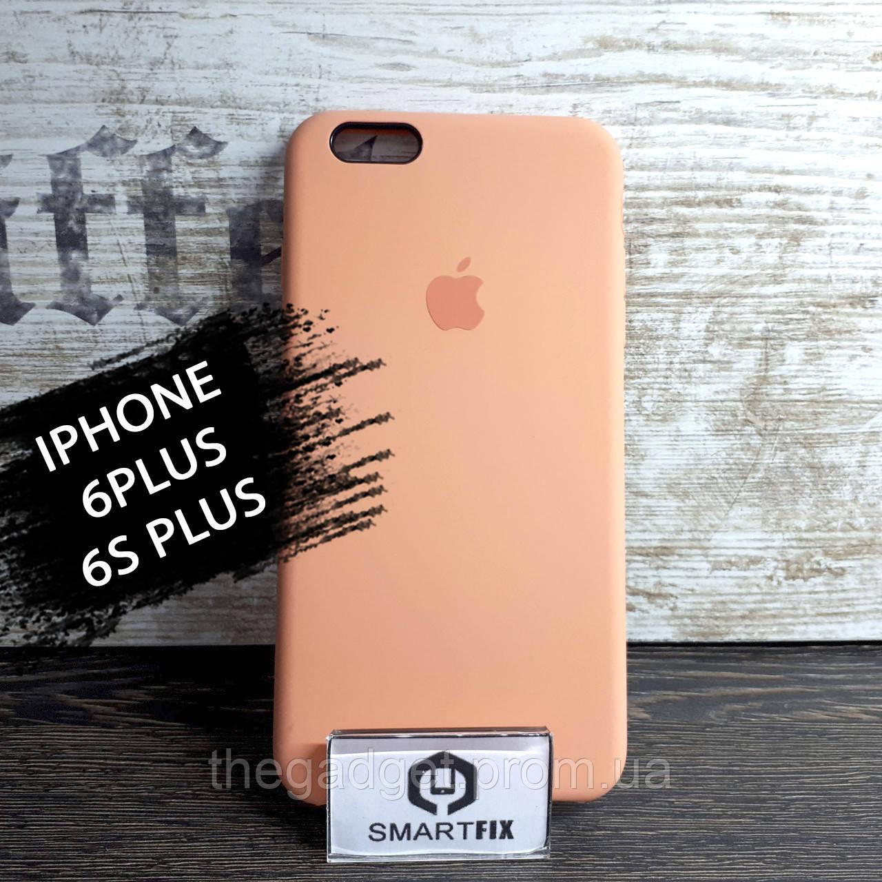 Силиконовый чехол для iPhone 6 Plus / 6S Plus Soft Оранжевый