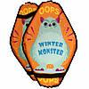 Санки Ледянки Мягкие с ручками MYAKO - Winter Monster, фото 4