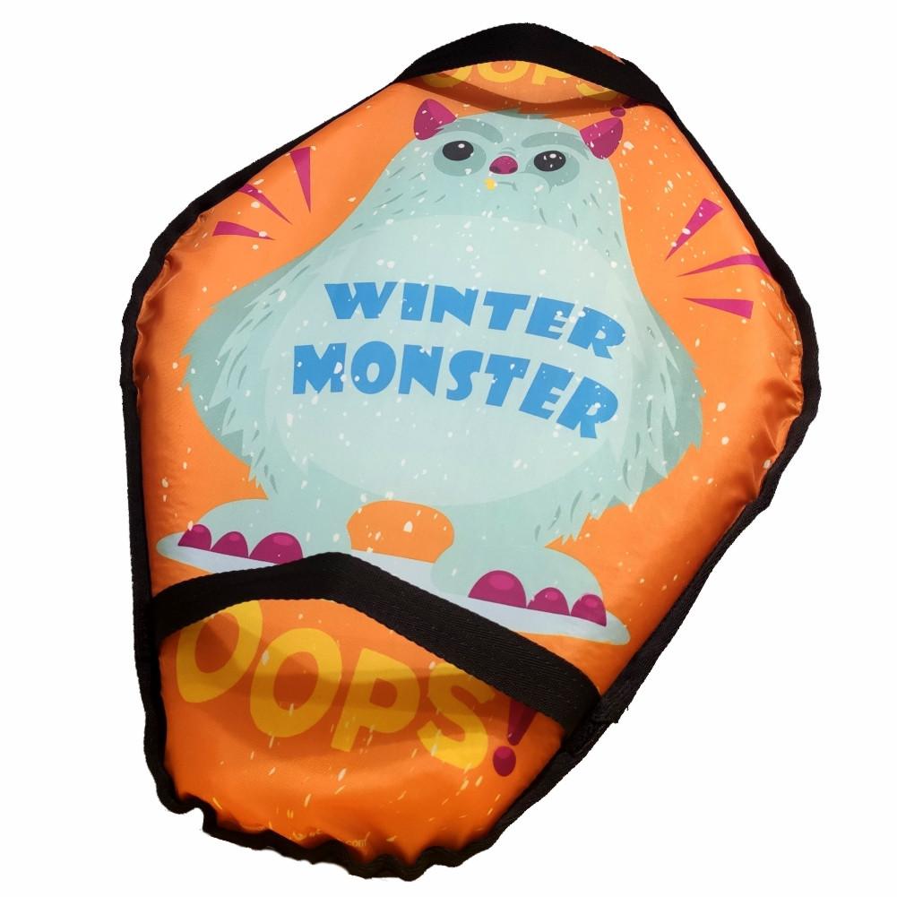 Санки Ледянки Мягкие с ручками MYAKO - Winter Monster