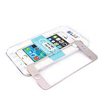 Бронированная защитная пленка (стекло), Комплект, переднее и заднее, для iPhone 6, 0,33 mm, NewTop, Хромированная /Зеркальная/ Mirror/ Chrome/ накладк
