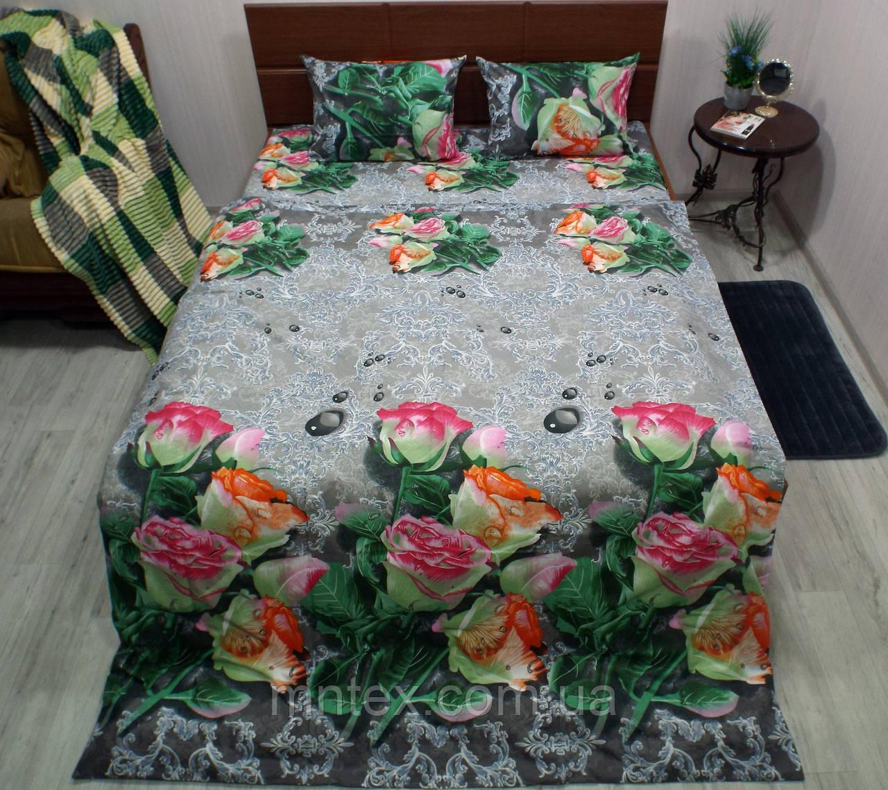 Комплект постельного белья бязь Голд Бутоны