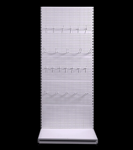 Стелаж перфорований прямий 2350*750 мм, стеллаж перфорированный