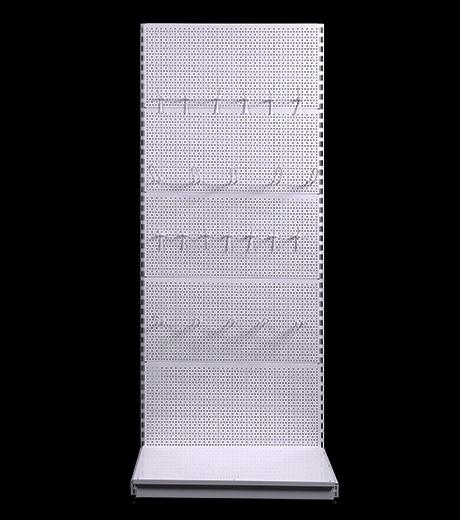 Стелаж перфорований прямий 2350*1200 мм, стеллаж перфорированный
