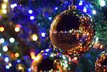 Гирлянда точка матовый 100LED 9м Микс (RD-7172), Новогодняя бахрама, Светодиодная гирлянда, фото 3