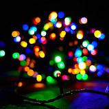 Гирлянда точка матовый 100LED 9м Микс (RD-7172), Новогодняя бахрама, Светодиодная гирлянда, фото 2