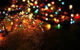 Гирлянда точка матовый 100LED 9м Микс (RD-7172), Новогодняя бахрама, Светодиодная гирлянда, фото 5