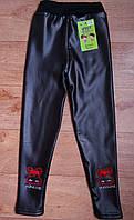 Термо лосины штанишки под кожу Уют плотном меху для девочки  XL р, фото 1