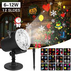 """Проектор лазерный """"Новогодняя тематика"""" Laser Light Shower With Stand SE326-02"""