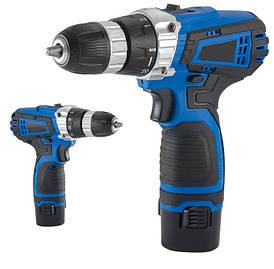 Шуруповерт-дрель аккумуляторный Screw Driver 1000 об/мин синий