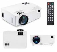 Мультимедийный проектор для домашнего кинотеатра Smarfilm Projector LED A8 Android 6.0 WiFi Белый