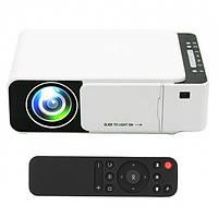 Мультимедийный проектор для домашнего кинотеатра Everycom T5 WiFi Белый