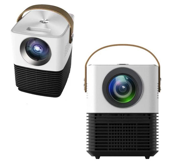 Мультимедийный проектор для домашнего кинотеатра DL-WL7 Android Wifi Бело-черный