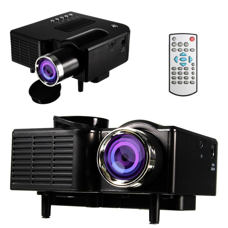 Мультимедийный проектор для домашнего кинотеатра UNIC UC 28 WiFi Черный
