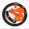 Умный массажный обруч String Body для похудения живота и боков HULA Hoop LED (W76), фото 4