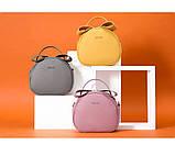 Удобная женская сумка полукруглая, фото 2