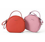Удобная женская сумка полукруглая, фото 3