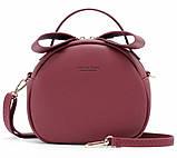 Удобная женская сумка полукруглая, фото 8