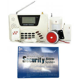 Охранная GSM сигнализация для дома с датчиком движения 360 RU 433 GSM Alarm