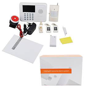 Охранная GSM сигнализация для дома с датчиком движения Alarm Set G1 RU
