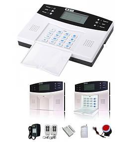 Охранная GSM сигнализация для дома с датчиком движения Alarm G30B RU