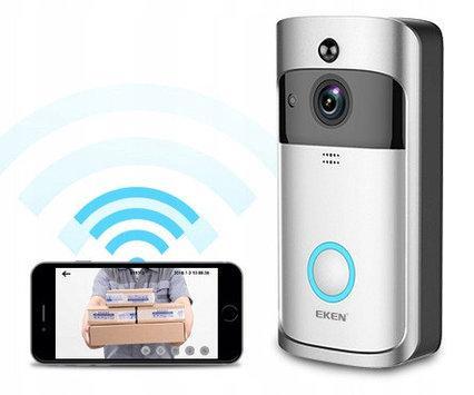 Беспроводной видеодомофон Wi-Fi звонок-глазок Eken V5