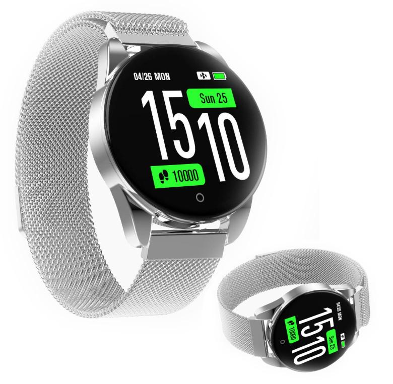 Наручные смарт-часы M12 Smart Watch с тонометром   умные часы (Silver)