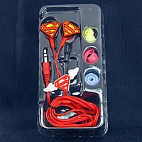 Детские наушники Disney, Superman, Разьем 3.5 mm (Универсальный) /наушники для детей/для девочек/для