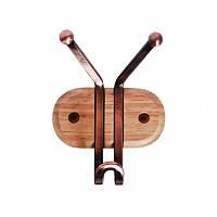 Вешалка на деревянной планке 10*13см Kamille 0914