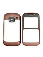 Корпус для Nokia E5-00, High Copy, Бронза /панель/крышка/накладка /нокиа