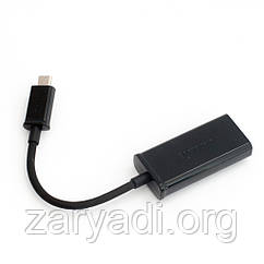 HDMI адаптер Micro USB, Samsung, Черный Переходник ТВ шдмай микро юсб Самсунг /самсунг
