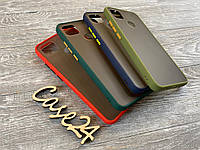 TPU чехол накладка Matte Color Case (TPU) для Xiaomi Redmi 9C (4 цвета), фото 1