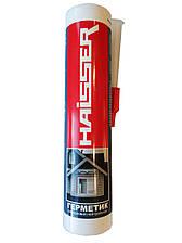 Герметик силиконовый, нейтральный 280мл (белый), HAISSER