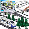 Железная дорога со световым эффектами, 914 см