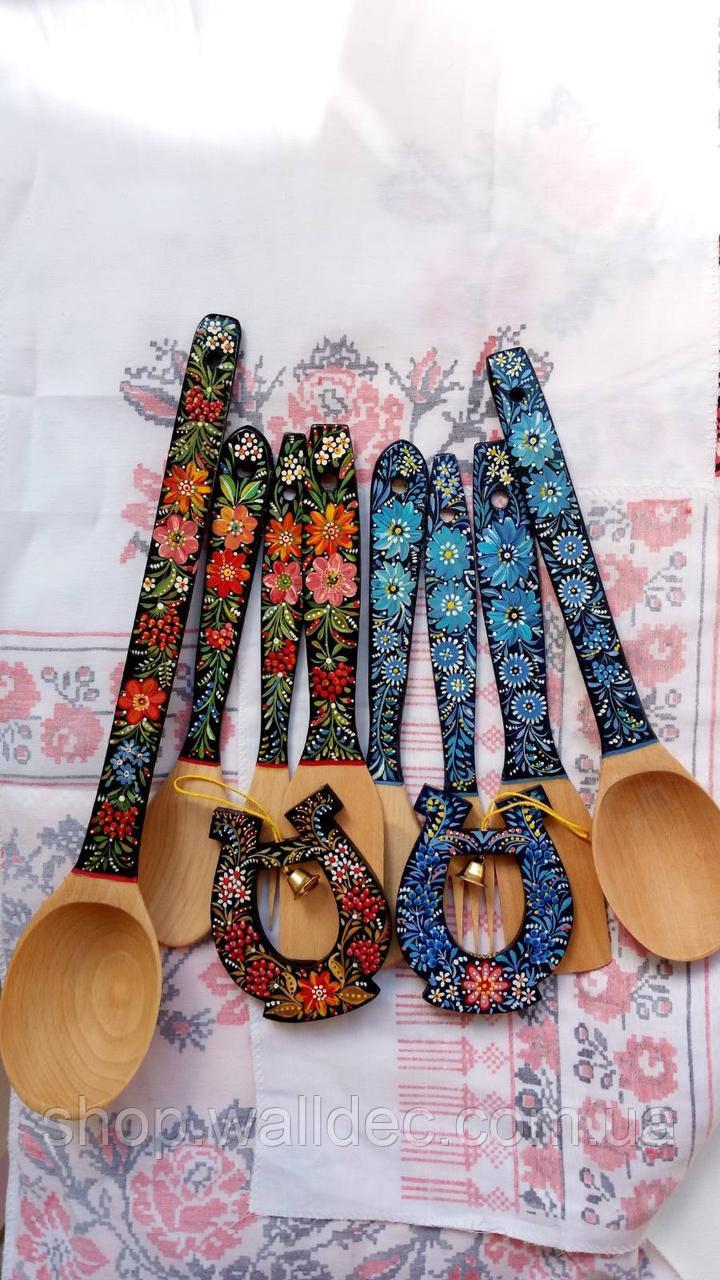 Набор роспись петриковская ложка, лопатка