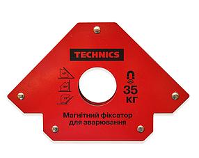 Магнитный фиксатор Technics для сварки 35 кг 190 х 120 мм (12-162)