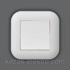 LOFT Выключатель 1 клавишный цвет белый