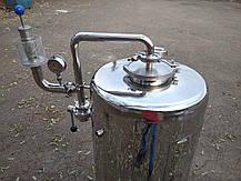 Цкт 65 литров для брожения под давлением, с рубашкой охлаждения., фото 3
