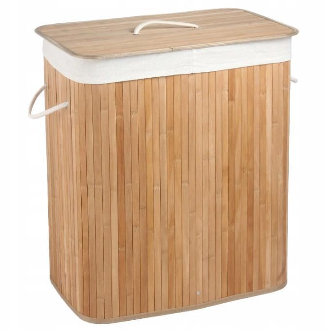 Корзина из натурального бамбука 100 л