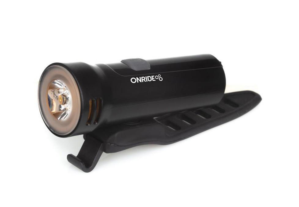 Велосипедний ліхтар ONRIDE Edge USB 400 Люмен