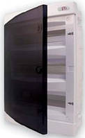 Щит внутрішній розподільчий 36 модулів (36 місць для автоматичних вимикачів, прозора двері)