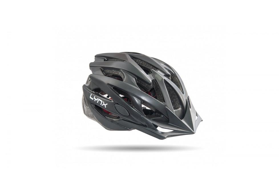Шлем велосипедный Lynx Les Gets Full Matt Black черный M